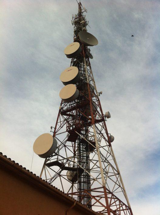 Instalación y mantenimiento integral de estaciones base