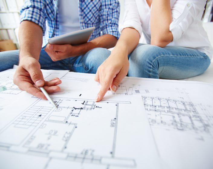 Redacción de proyectos, dirección de obra...