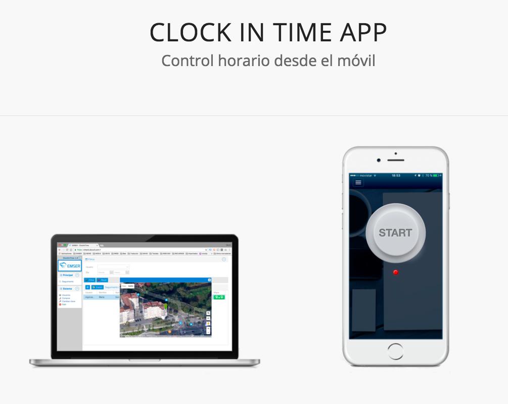 Control horario laboral desde tu smartphone